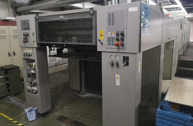 德国曼.罗兰706+lv六色对开普通、UV两用高速印刷机
